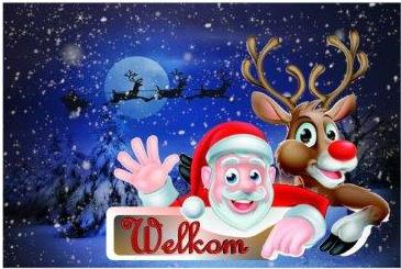 kerstmis welkom